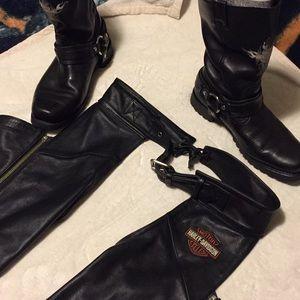 Harley-Davidson Chaps & Boots